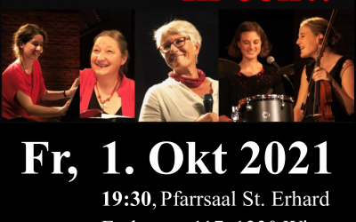 """Konzert – Ursula Leutgöb & die Famosen Frauen """"In echt!"""""""