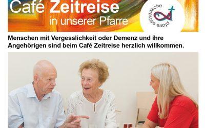 Café Zeitreise ab 16.9. in der Pfarre Erlöserkirche